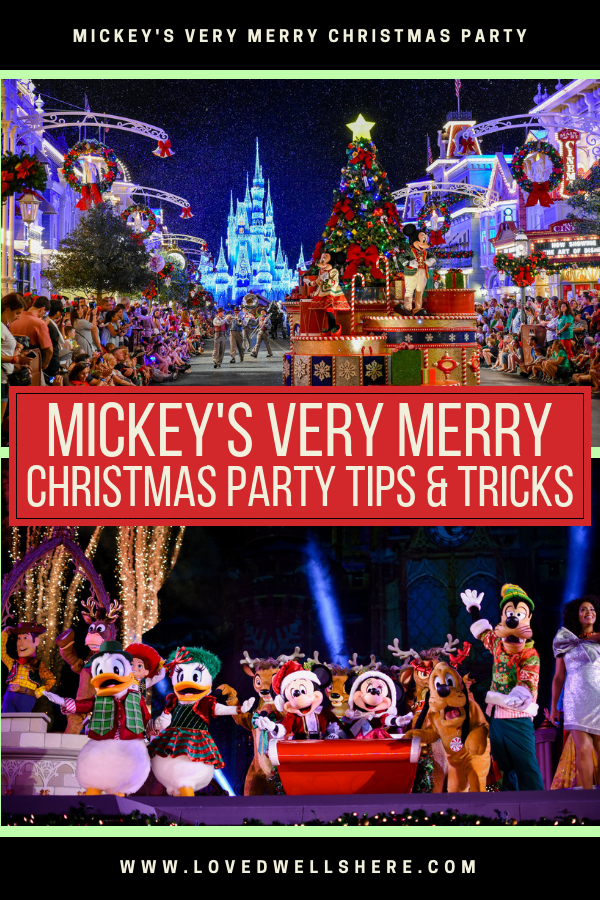 Mickeys Very Merry Christmas Party.Mickey S Very Merry Christmas Party Tips And Tricks