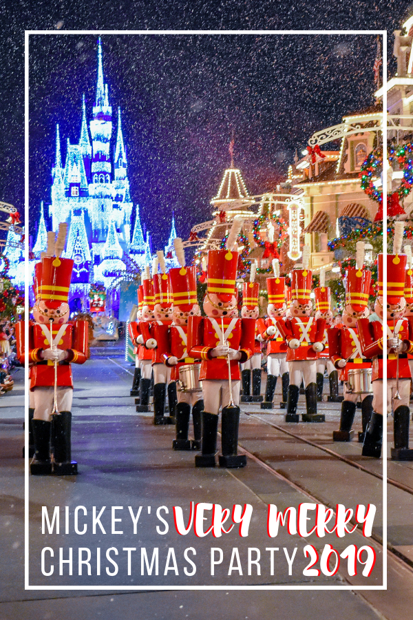 2019 Mickeys Christmas Party Mickey's Very Merry Christmas Party