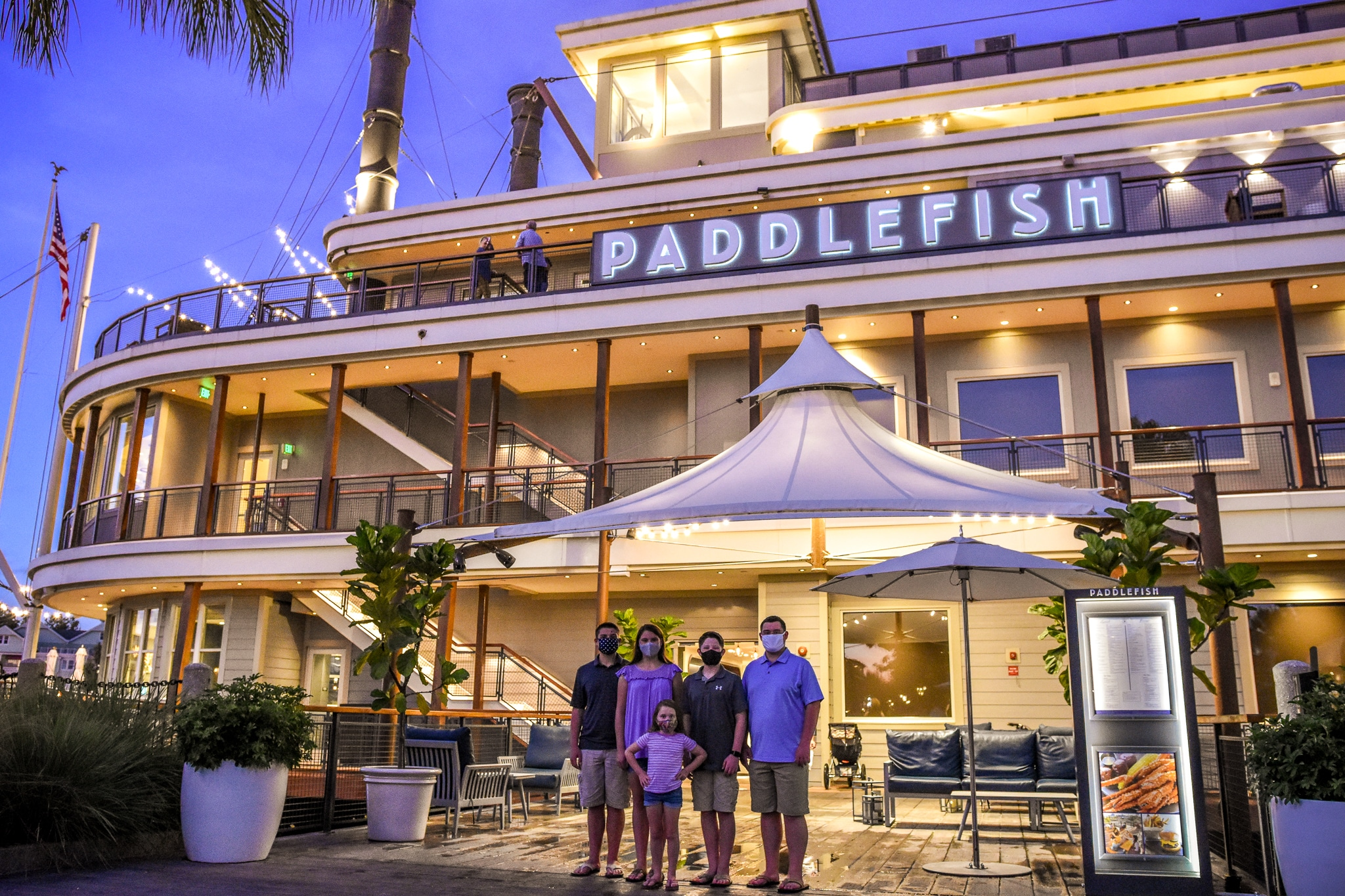 Picture of Paddlefish Disney Springs